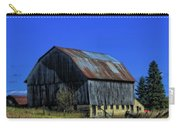 Old Broken Down Barn In Ohio Carry-all Pouch