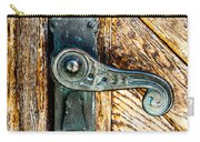 Old Bronze Church Door Handle Carry-all Pouch