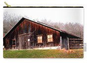 Old Brown Barn Along Golden Road Carry-all Pouch