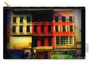 Old Buildings 6th Avenue - Vintage Nyc Architecture Carry-all Pouch