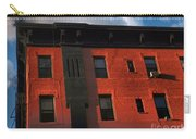 Brownstone 1 - Old Buildings And Architecture Of New York City Carry-all Pouch