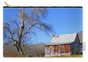 Old Cabin And Tree Carry-all Pouch