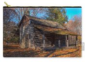Old Cabin In The Woods Carry-all Pouch