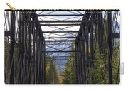 Old Canmore Railroad Bridge Carry-all Pouch