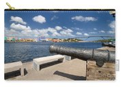 Old Cannon And Queen Juliana Bridge Curacao Carry-all Pouch