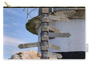 Old Cape Point Lighthouse In South Africa Carry-all Pouch