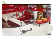 Old Car At Drive In Restaurant Carry-all Pouch