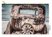Old Car In The Snow Carry-all Pouch