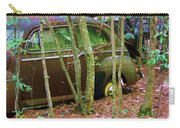 Old Car In The Woods Carry-all Pouch