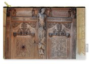 Old Carved Church Door Carry-all Pouch