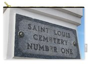 Old Cemetery Carry-all Pouch