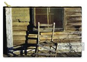 Old Chair On Old Porch Carry-all Pouch