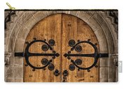 Old Church Door Carry-all Pouch