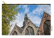 Old Church In Amsterdam Carry-all Pouch