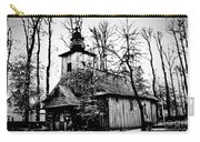 Old Church In Zakopane Carry-all Pouch