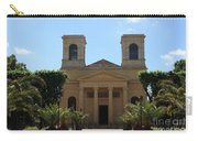Old Church - Macon - Burgundy Carry-all Pouch