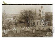 Old Church's Cemetery Graveyard Boston Massachusetts Circa 1900 Carry-all Pouch