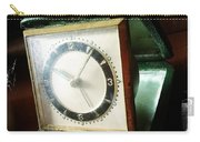 Old Clock Carry-all Pouch by Les Cunliffe