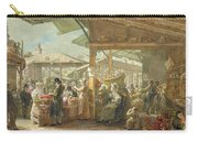 Old Covent Garden Market Carry-all Pouch by George the Elder Scharf