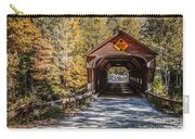 Old Covered Bridge Vermont Carry-all Pouch