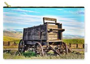 Old Covered Wagon Carry-all Pouch