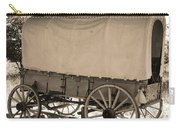 Old Covered Wagon Out West Carry-all Pouch by Dan Sproul