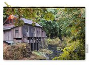 Old Creek Grist Mill In Autumn Carry-all Pouch