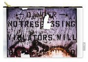 Old Danger Carry-all Pouch by Bob Orsillo