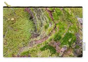 Old Decaying Lichens Moss Covered Taiga Tree Trunk Carry-all Pouch