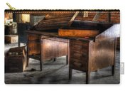 Old Desk In The Attic Carry-all Pouch