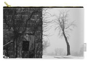 Old Door And Tree Carry-all Pouch by William Jobes