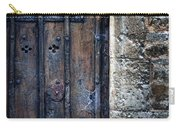 Old Door With Spider Webs Carry-all Pouch
