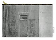 Old Doorway Bw Carry-all Pouch