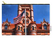 Old Dupage County Courthouse Flag Carry-all Pouch