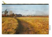 Old English Landscape Carry-all Pouch by Pixel Chimp