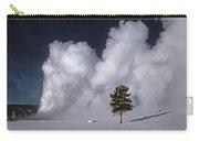 3m09137-02-old Faithful Geyser 2 Carry-all Pouch