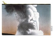 Old Faithful Geyser Yellowstone Np Carry-all Pouch