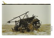 Old Farm Equipment Northwest North Dakota Carry-all Pouch by Jeff Swan