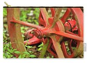 Old Farm Tractor Wheel Carry-all Pouch