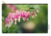 Old Fashioned Bleeding Hearts Carry-all Pouch