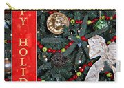 Old Fashioned Christmas Carry-all Pouch by Carolyn Marshall