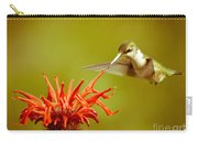 Old Fashioned Hummingbird Carry-all Pouch