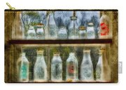 Old Fashioned Milk Bottles Carry-all Pouch by Susan Candelario