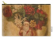 Old Fashioned St Nick Carry-all Pouch