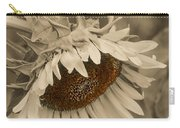 Old Fashioned Sunflower Carry-all Pouch