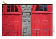 Old Fire Hall Doors Carry-all Pouch