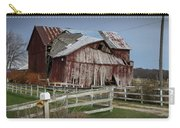 Old Forlorn Decrepid Wooden Barn Carry-all Pouch
