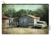 Old Garage And Car In Seligman Carry-all Pouch