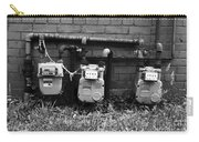 Old Gas Meters Carry-all Pouch