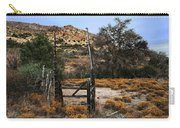 Old Gate At Oak Flats Carry-all Pouch